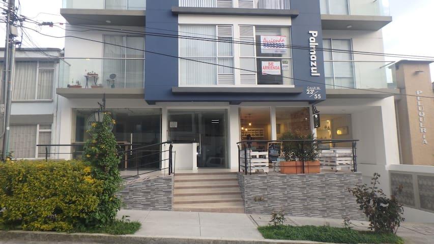 Apartaestudio-El cable-Calle Larga-Vista exterior