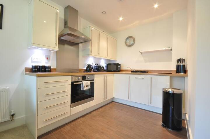 Modern Apartment in Central St Albans