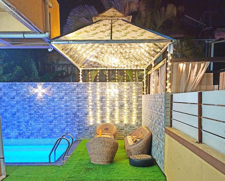 4 Bhk Villa with Private pool in Lonavala.