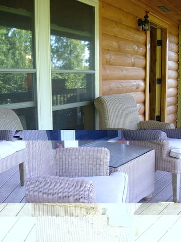 A Buck's View Log Cabin - sleeps 2-6 in Luray, VA - Luray - Cabana