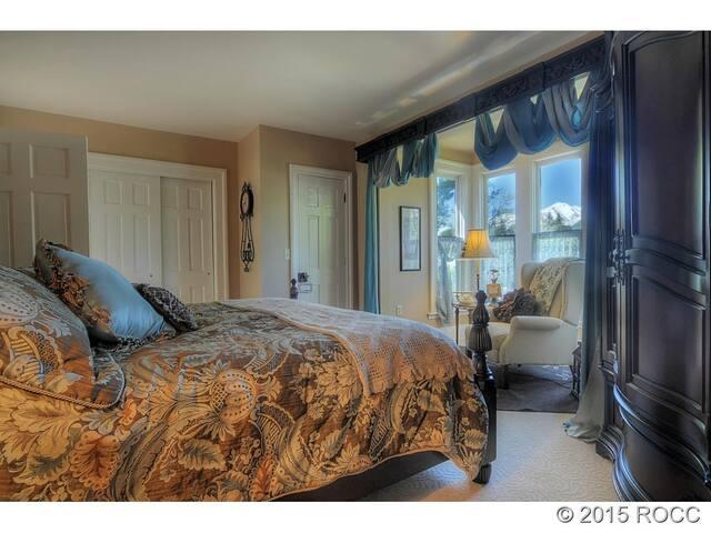 Master Suite in Historic Victorian - Buena Vista - Huis