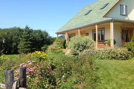Gîte LesJardins de la montagne  E - Petit-Saguenay