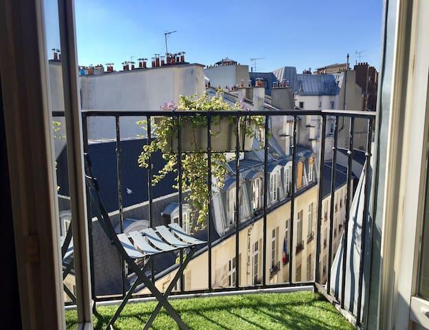Le Marais | Nice apartment with balconies