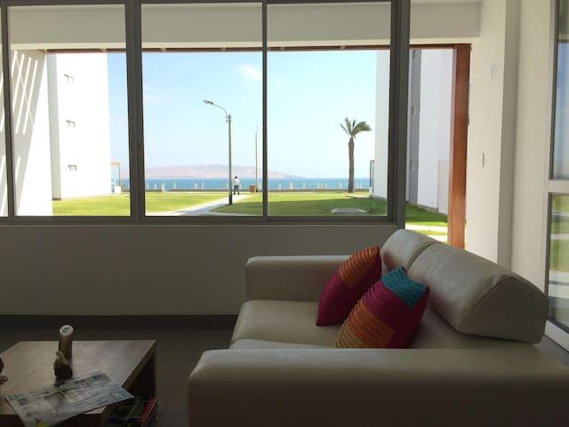 Departamento con vista al mar en Paracas - Paracas - Appartement