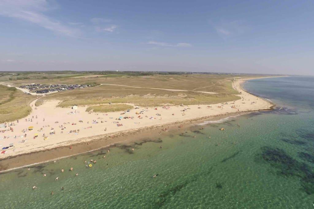 une des plages de la commune de Plouhinec