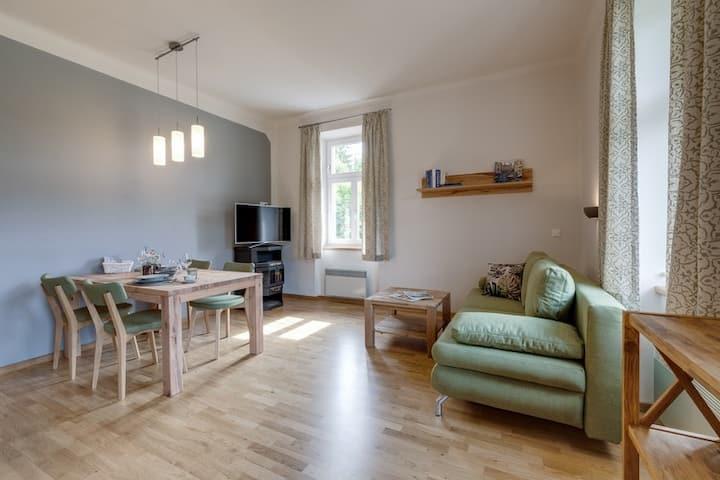 Herrenhaus am Erlaufsee (Sankt Sebastian), Appartement See-Komfort mit Balkon/Seeblick