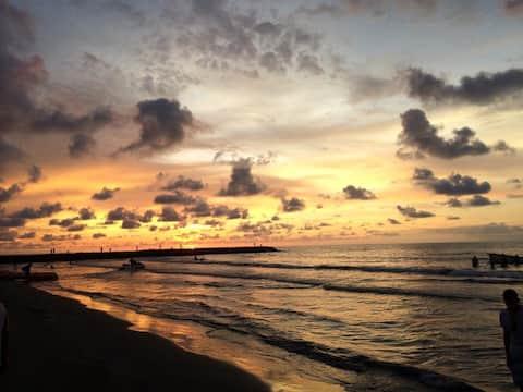 Playa Hollywoo, el Laguito, Cartagena