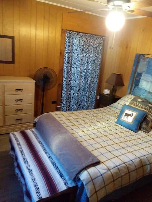 Bedroom off solarium