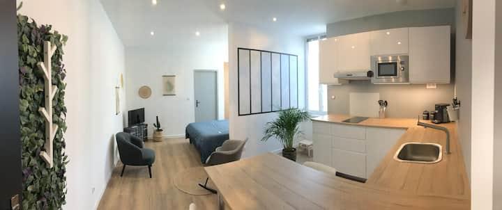 Studio cosy Chateaulin centre
