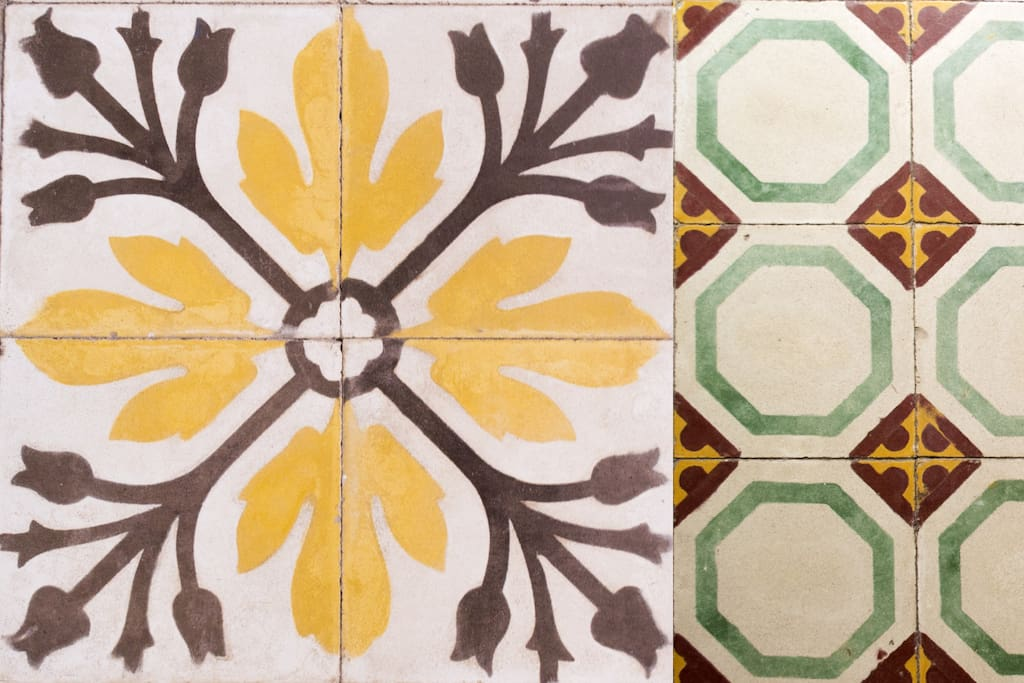 Experience the authentic Maltese character thanks to the original hand crafted patterned tiles.