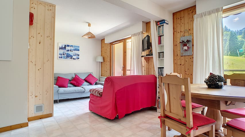 SPACIOUS APARTMENT - SAINT JEAN D'AULPS SKI RESORT - 5/6 PEOPLE - CERF 36