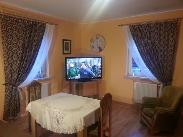 pastelowy apartament na Pilczycach
