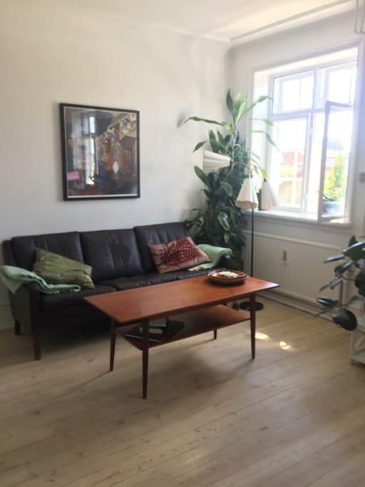 Min stue - med udsigt- kan benyttes, hvis I er 4 pers.