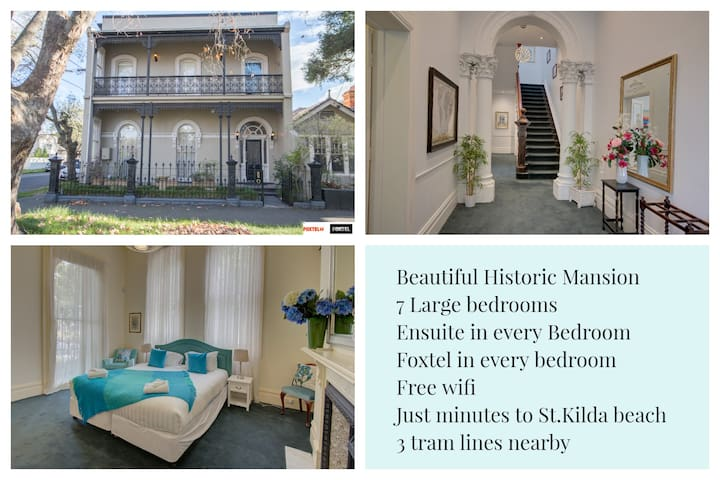 Your home away from home in 7 bedroom mansion