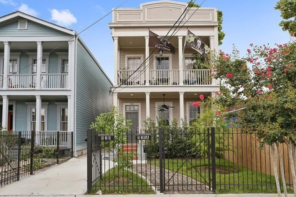 Studio In Lower Garden District Private Entrance Houses For Rent In New Orleans Louisiana