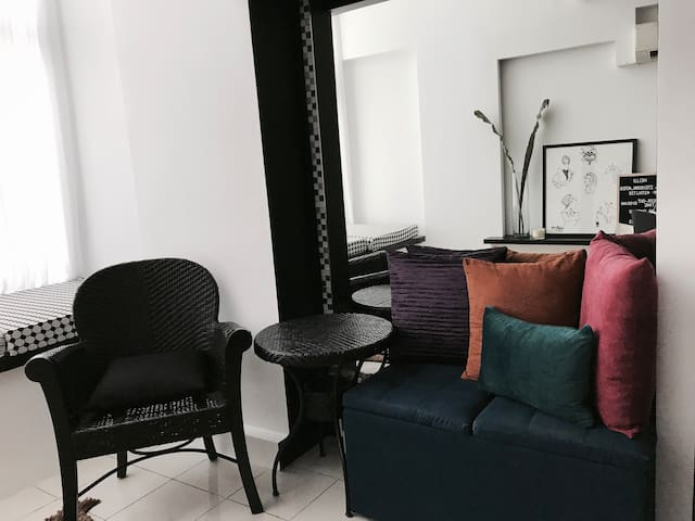 Eclectic loft in Ortigas Center