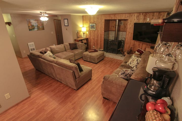 Elk Loop VR - 3 BR Outdoor Getaway - Forks - House