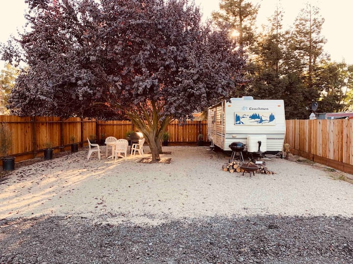 """KJ's Come Stay Awhile """"Glamp-Site"""" (Washer/Dryer)"""