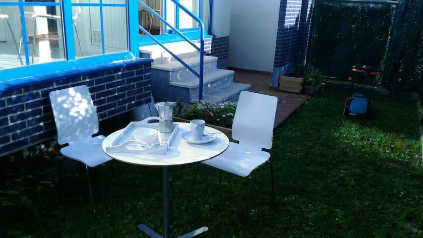 Urb Bajo con jardín,garage,piscina - Noja - Apartamento