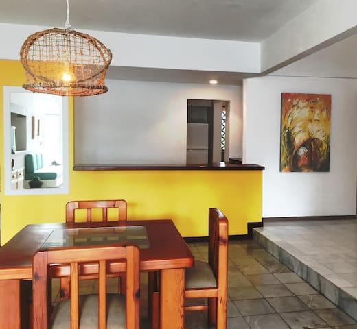Bonito apartamento a 50m dela playa - Manzanillo - Apartament