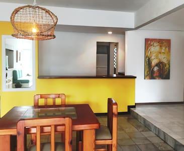 Bonito apartamento a 50m dela playa - Manzanillo - Appartement