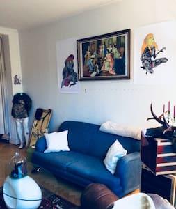 Artist's apartment in Malmoe