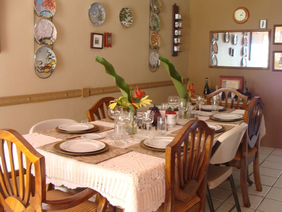 Nuestro Espacio de Almuerzo y Cena