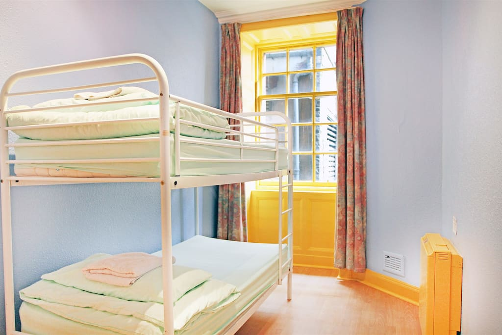 Clean and bright rooms, perfect location in town!