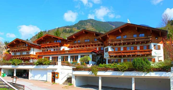 Select Apartment 11 - large apartment with a generous balcony, in beautiful location, infrared cabin