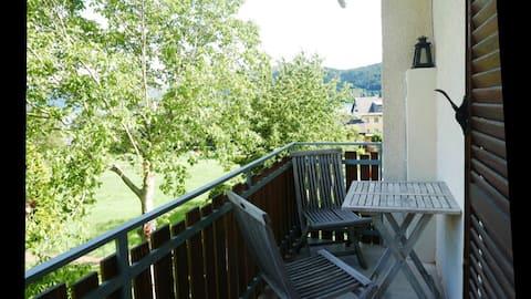 Zonnig appartement in het centrum van Millstatt