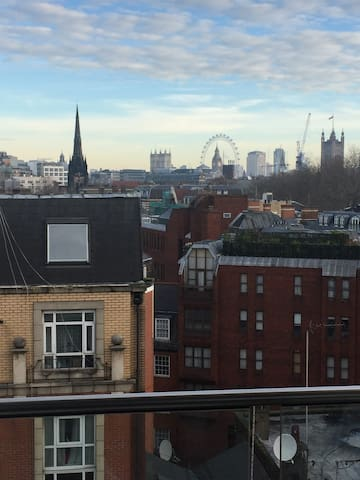 Central London Apartment with stunning views - London - Lägenhet