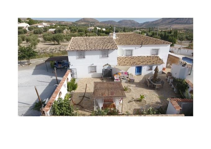 Casa Luna Vélez Blanco Mojacar room