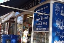 Arkwrights Deli....it's a 'must visit' location - about a minute's walk from my house. Great for pretty much everything (!) including: Artisan Teas & Coffees, General Groceries, Breads, Croissants and Pastries, Household Essentials! You name it, they've probably got it!