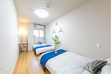 A②/NEW OPEN/個室/京都アクセス良/綺麗なゲストハウス/出張/wifi - Moriguchi