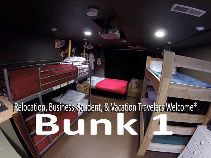 Traveler's Hub: Hidden Treasure/BUNK 1 (Bottom)