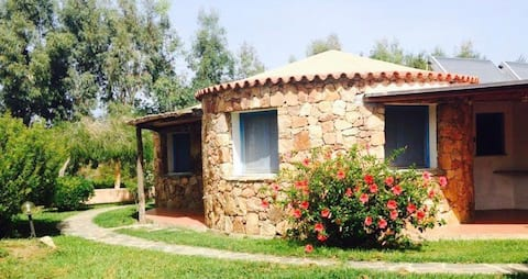 Bellissimo bungalow in Camping Calacavallo
