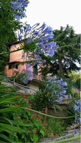 Panoramico appartamento in casale - Ariccia - Leilighet