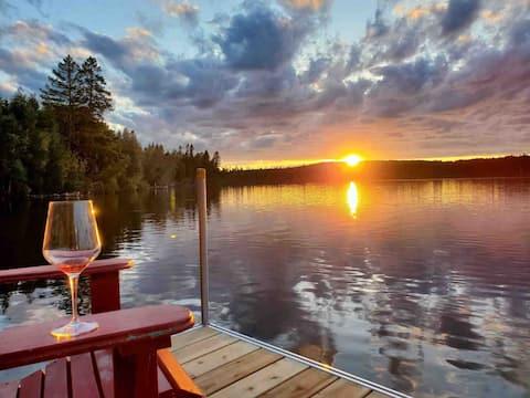 Chalet spacieux & ensoleillé - Lac Fontaine-Claire