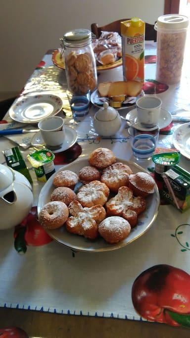 la colazione!