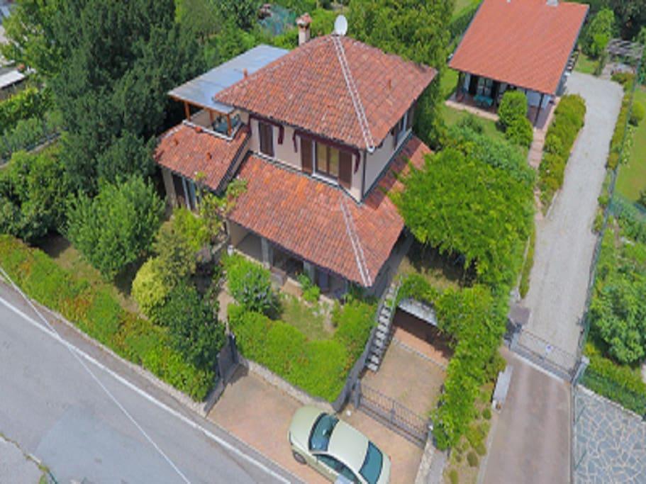 la villa dal drone