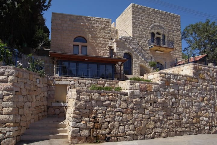 Renovated apartment in an ancient stone house