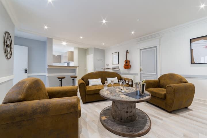 Appartement Cottage T4- Centre ville Clémenceau