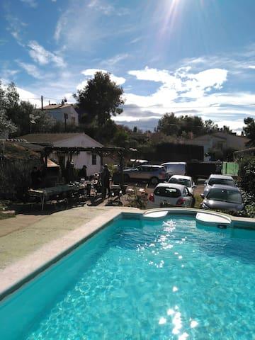 Casa de Campo con piscina&barbacoa - La Pineda de Santa Cristina - Talo