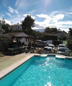 Casa de Campo con piscina&barbacoa - La Pineda de Santa Cristina