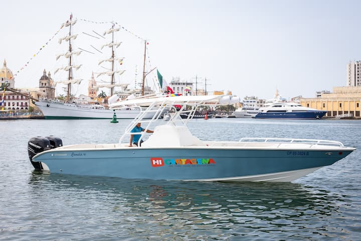 36ft Luxury Speedboat