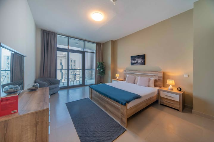 Dubai Wharf in Jaddaf Waterfront New modern 1BR