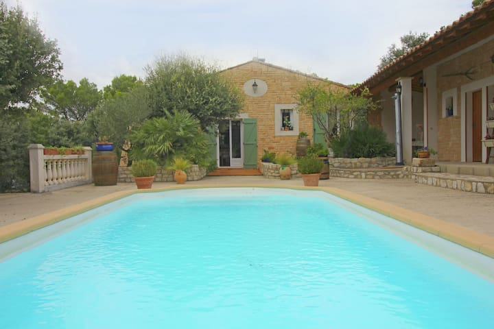 Attractive Holiday Home in Uchaux France With Private Pool