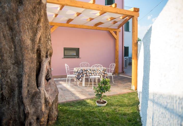 Casa vacanze Cilento, Salvia mare a pochi passi