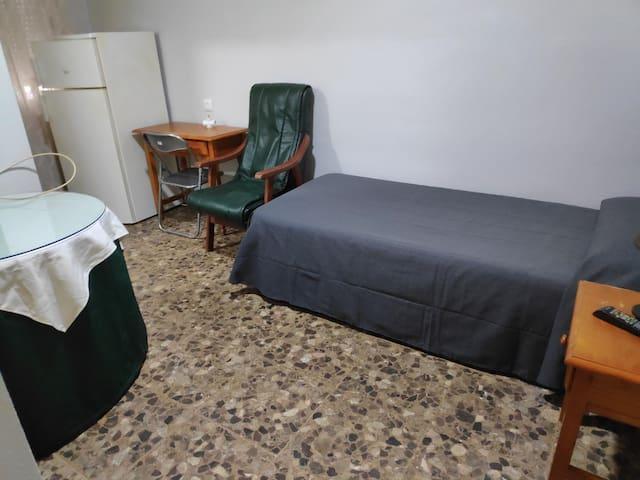 Habitacion Individual con baño privado