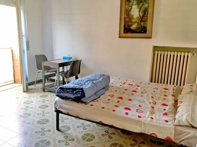 Juventus single/double room,WiFi,Low cost transfer